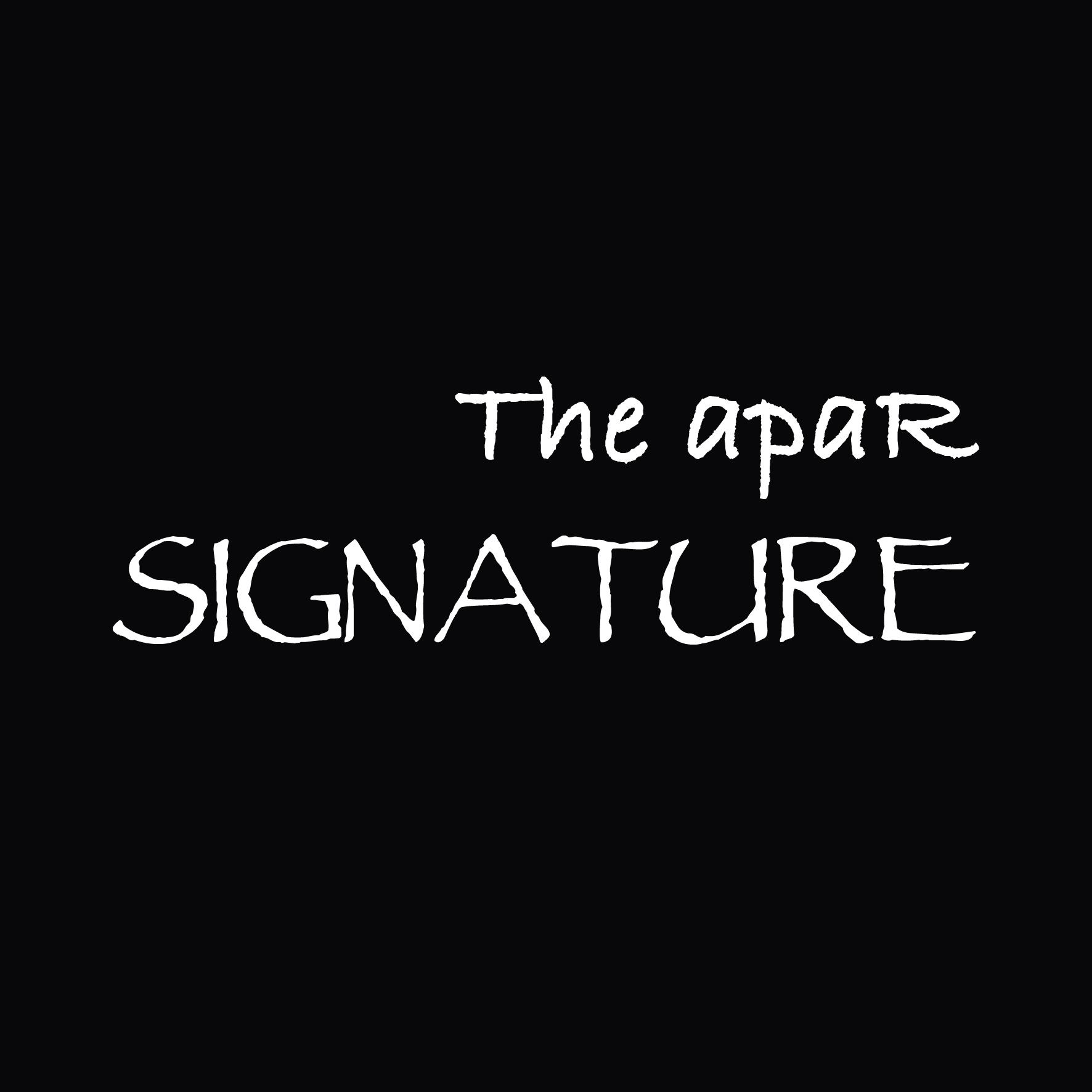 Apar title2 signature
