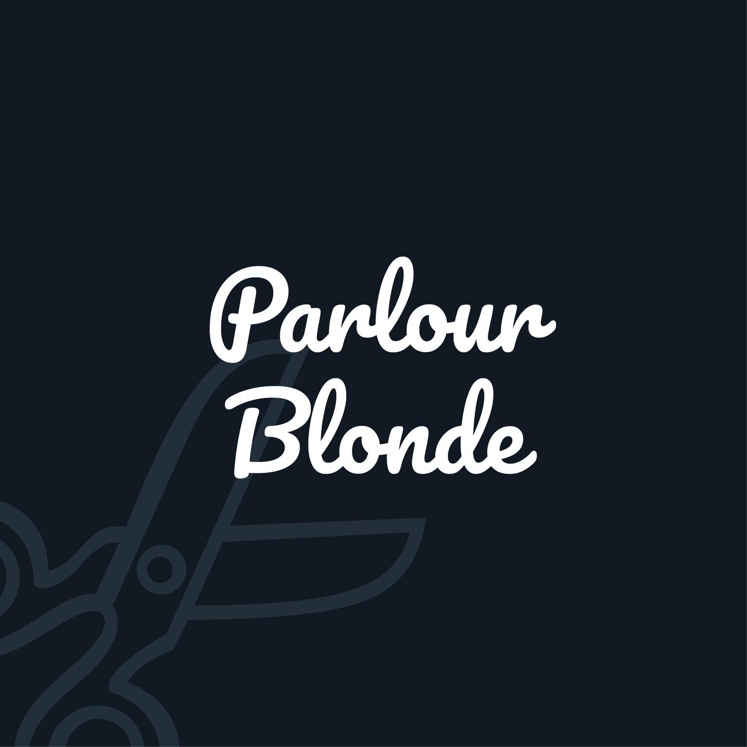 Po title parlour blonde preview