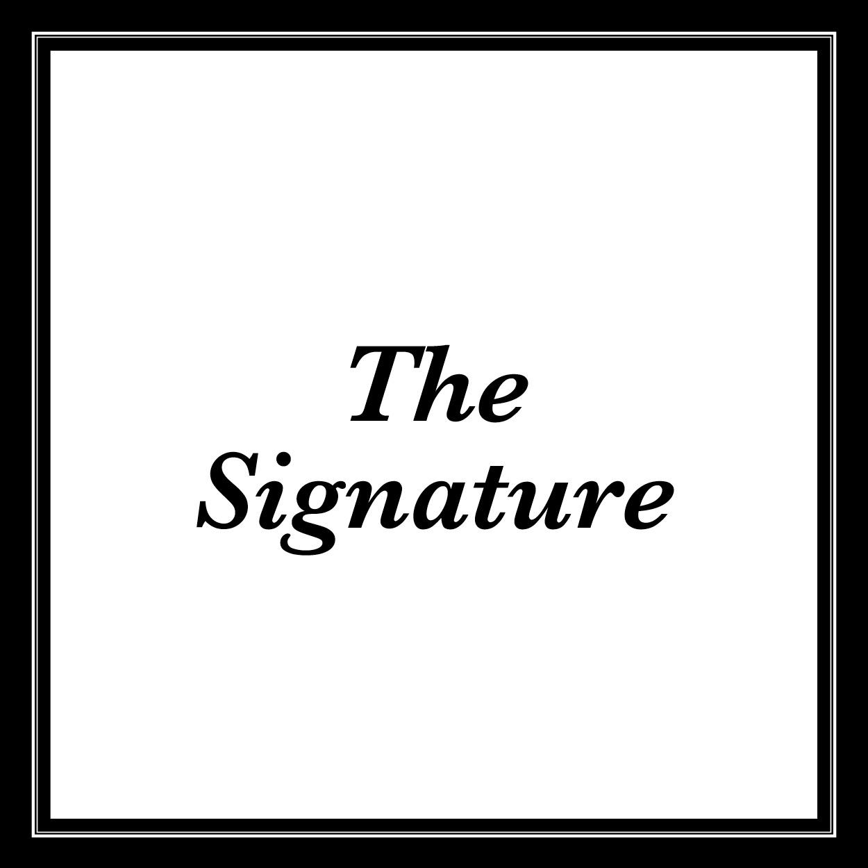 Thb signature text