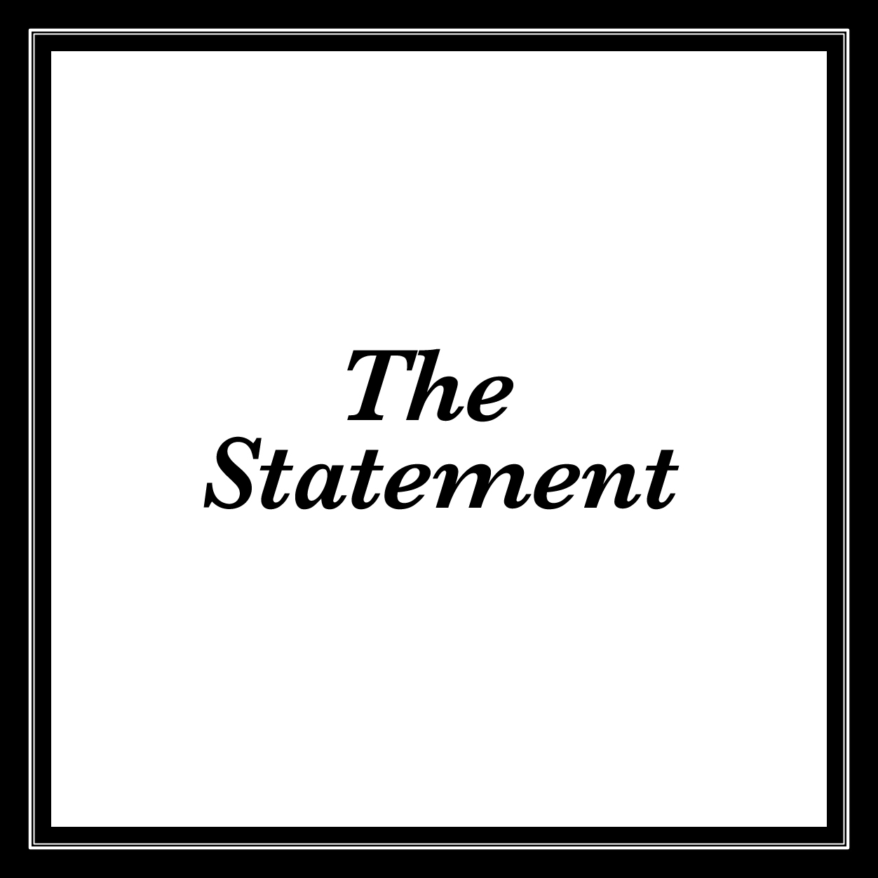 Thb the statement text