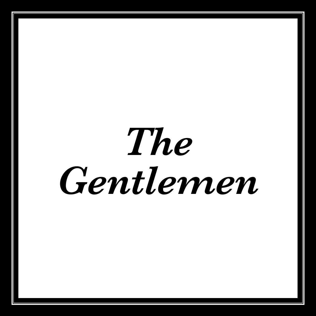 Thb gentlemen text