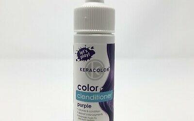 Keracolor color clenditioner purple hair color 2
