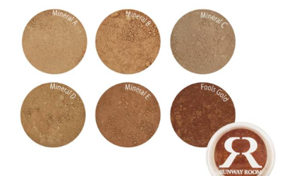 Mineral loose powder foundation shade range