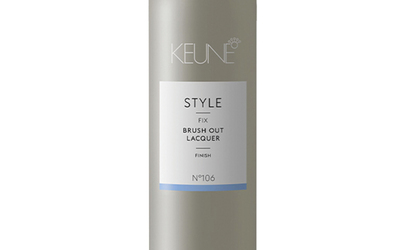Style fix brush out laqure